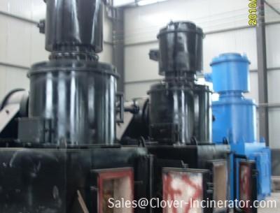 5台型号YD50焚烧炉发货