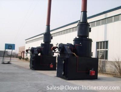 1台型号YD500燃气焚烧炉发往广州
